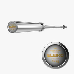ELEIKO IWF Weightlifting Training Bar 15kg - Gym Concepts