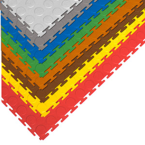 AlphaState Coloured Interlocking Gym Flooring (6mm) - Gym Concepts