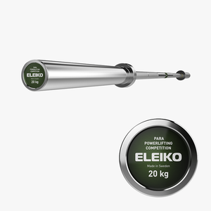 Eleiko Para Powerlifting Bar 20kg - Gym Concepts