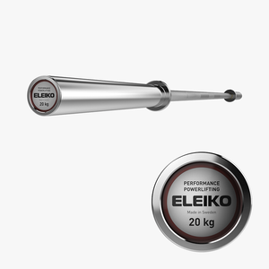 Eleiko Performance Powerlifting Bar 20kg - Gym Concepts