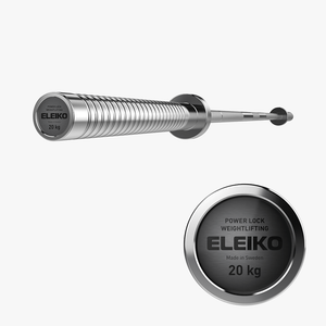 Eleiko Power Lock Weightlifting Bar 20kg - Gym Concepts