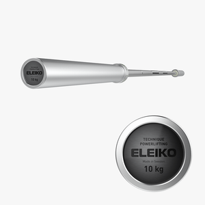 Eleiko Powerlifting Technique Bar 10kg - Gym Concepts