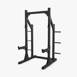 Eleiko XF 80 Half Rack Hybrid with Safety Arms - Black - Gym Concepts
