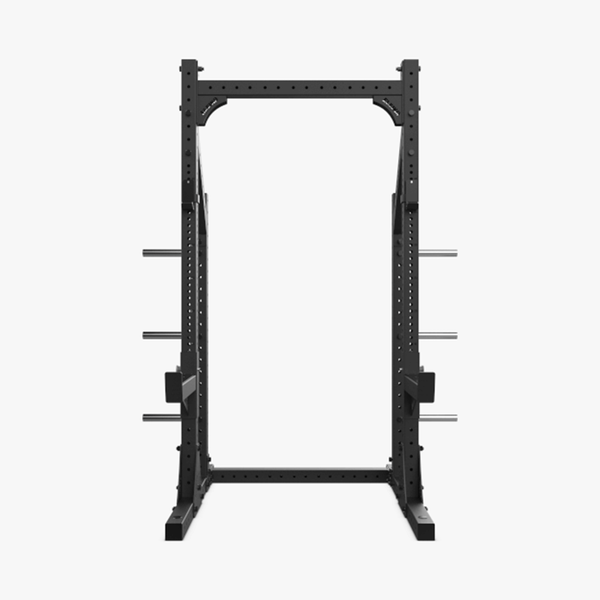 Eleiko XF 80 Half Rack Hybrid with Safety Arms - Black