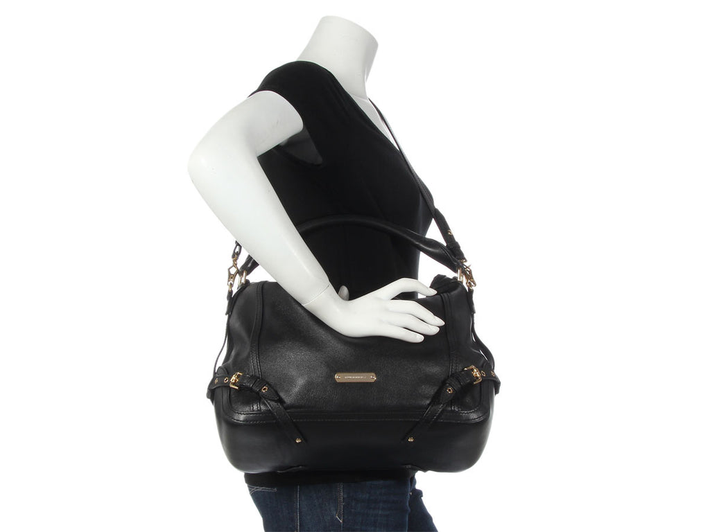 Burberry Black Small Ledbury Hobo