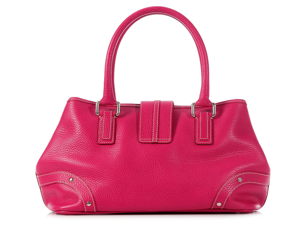 Burberry Shocking Pink Satchel