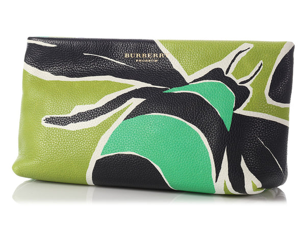 Burberry Green Bee Prorsum Clutch