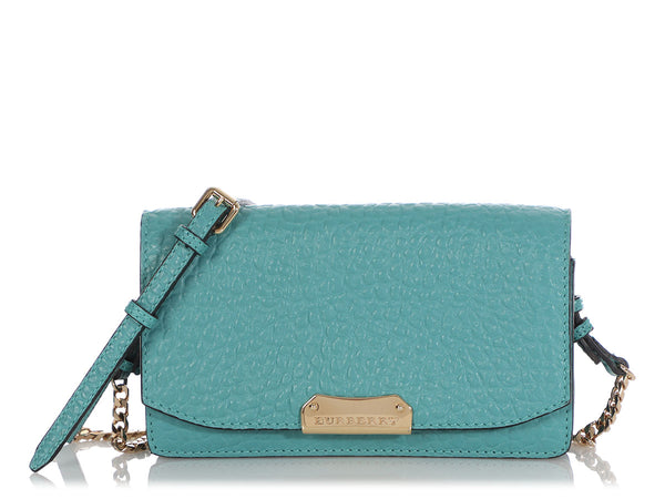 Burberry Blue Madison Wallet on Chain