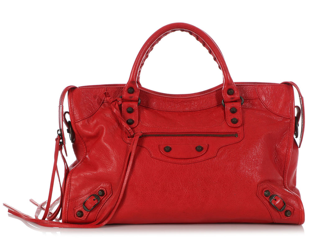 Balenciaga Red Classic City