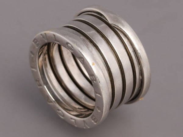 Bulgari 18K Gold B.zero1 Five-Band Ring