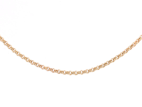 18k Yellow Gold Belcher Chain