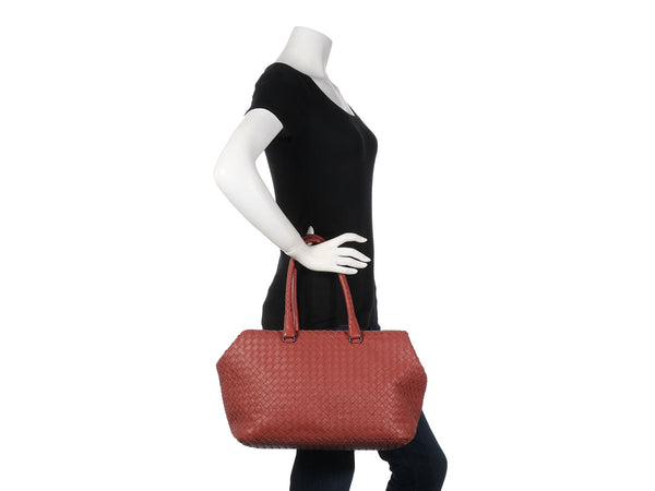 Bottega Veneta Dusty Rose The Brick Bag