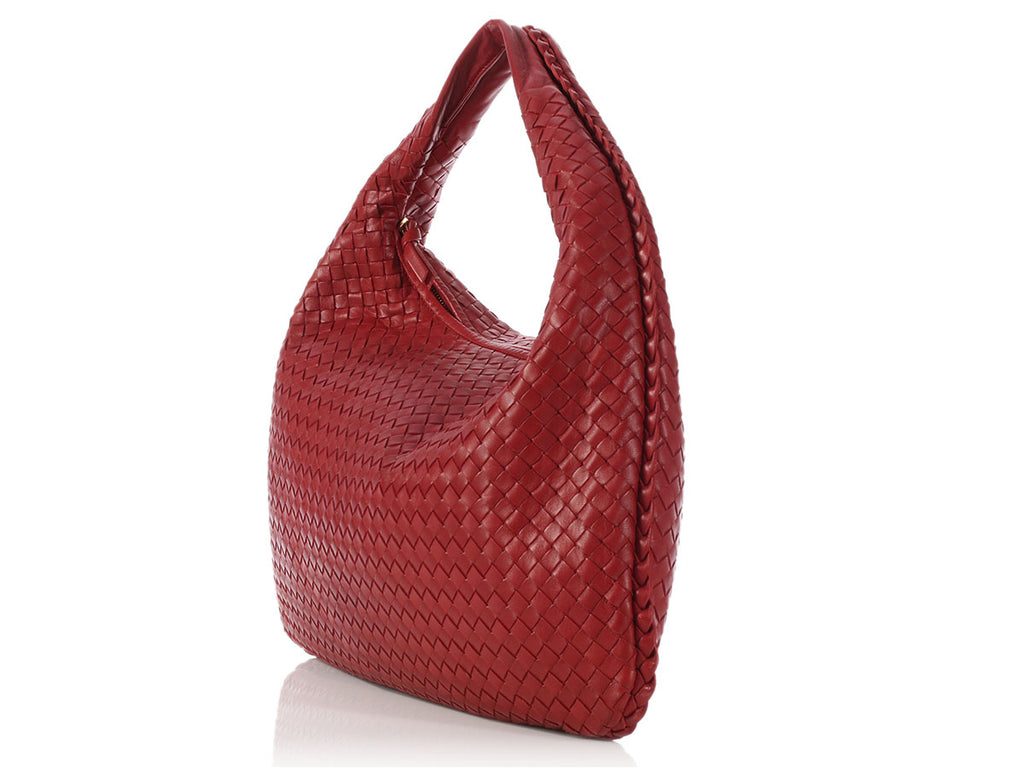 Bottega Veneta Large Dark Red Veneta