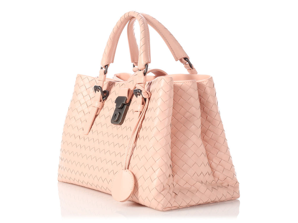 Bottega Veneta Small Pink Roma Bag