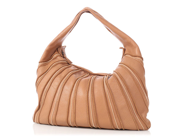Bottega Veneta Large Tan Hobo