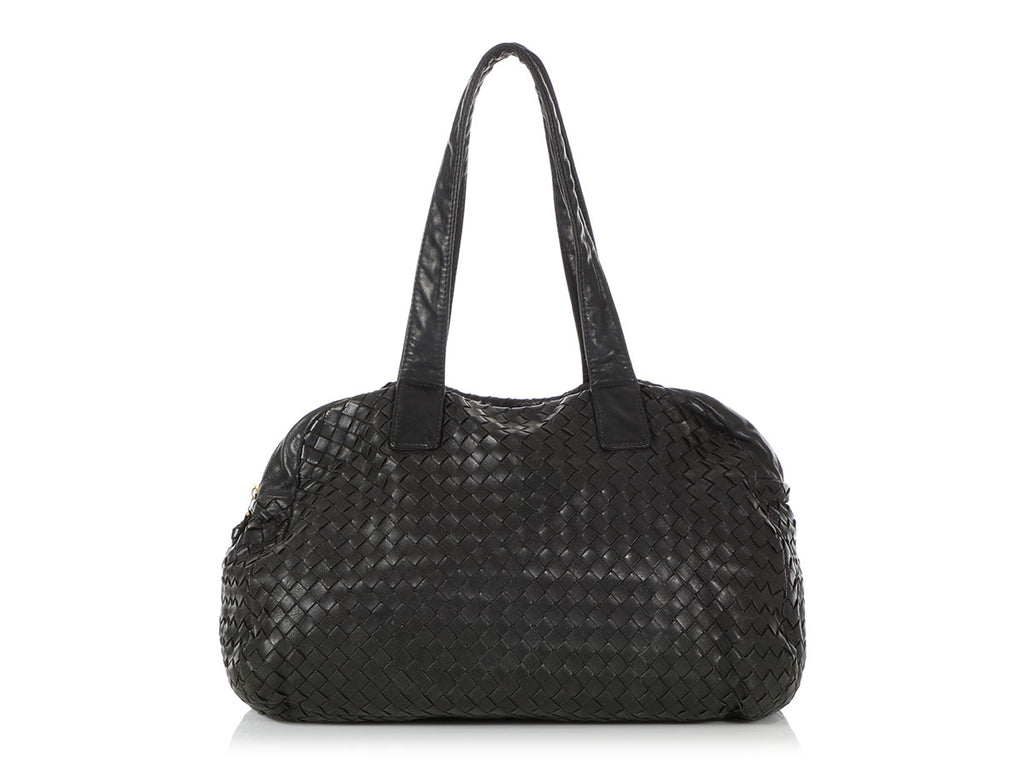 Bottega Veneta Black Satchel