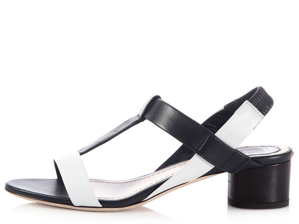Dior Tricolor Pulse Sandals