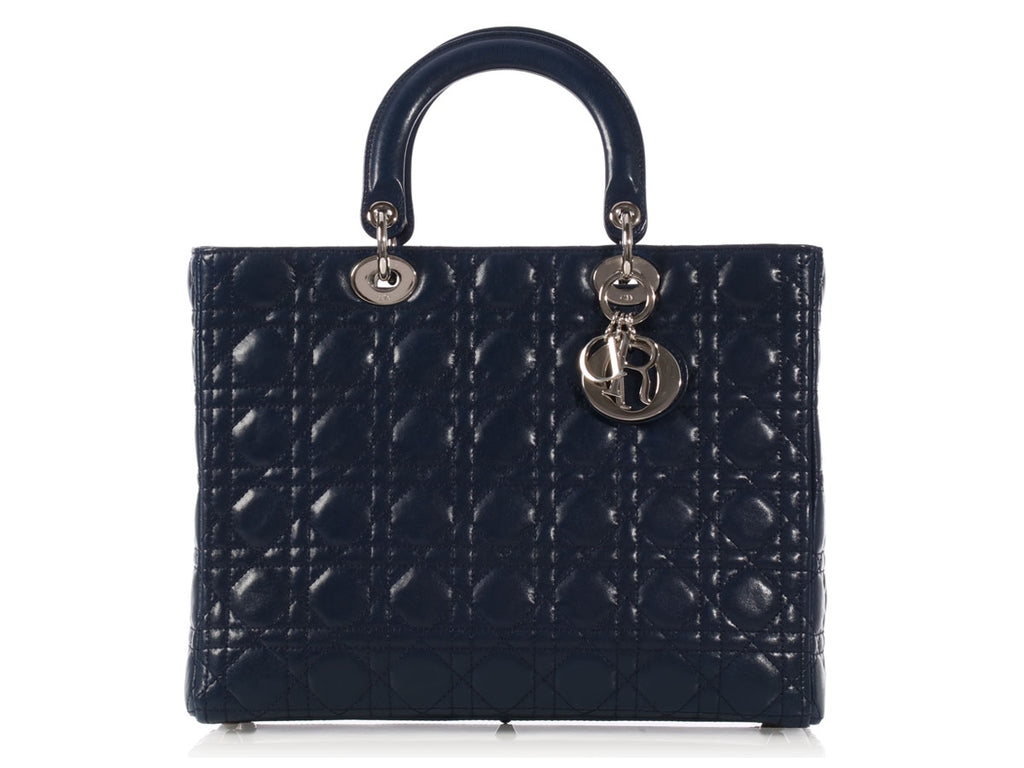 Dior Large Navy Lady Di Bag
