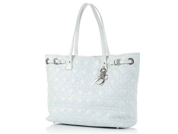 Dior Light Blue Medium Panarea Tote