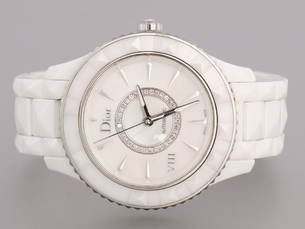 Christian Dior VIII Watch with Diamonds