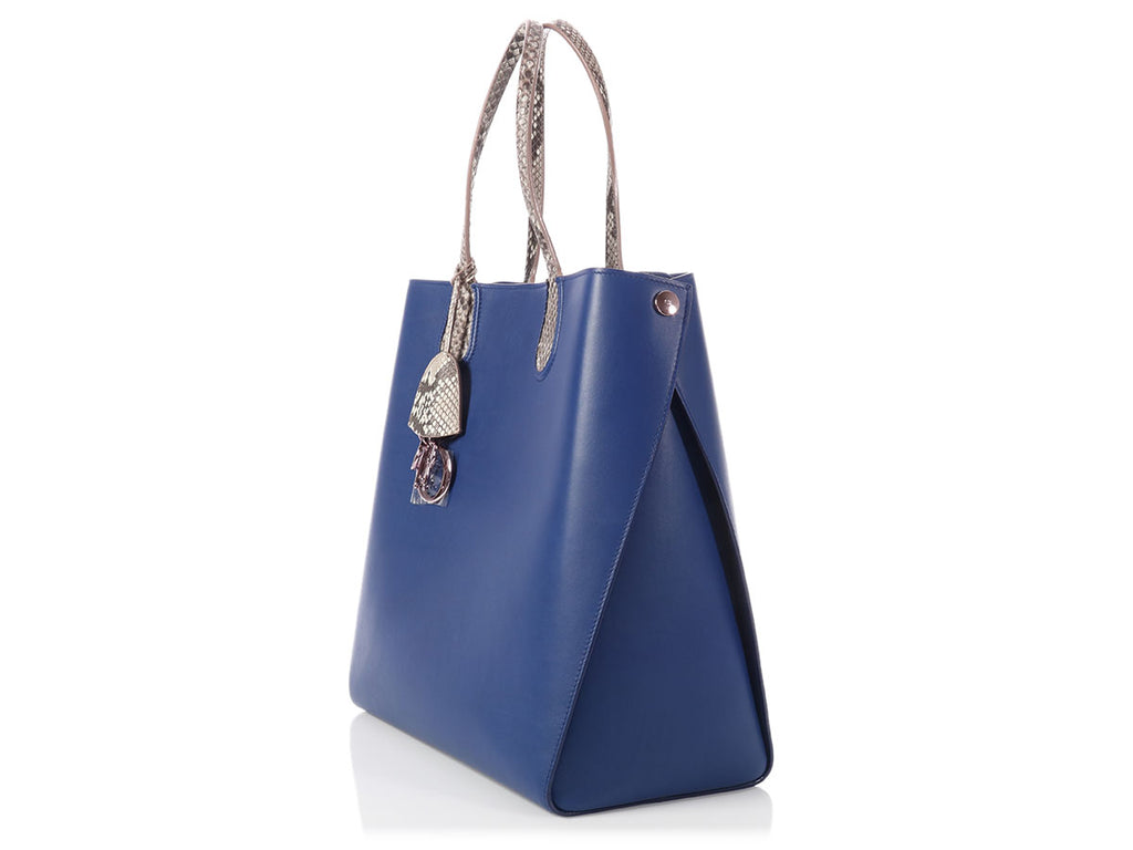 Dior Blue Addict Vertical Tote
