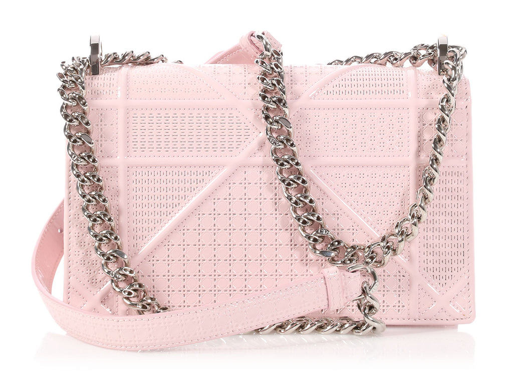 Dior Small Pink Patent Diorama