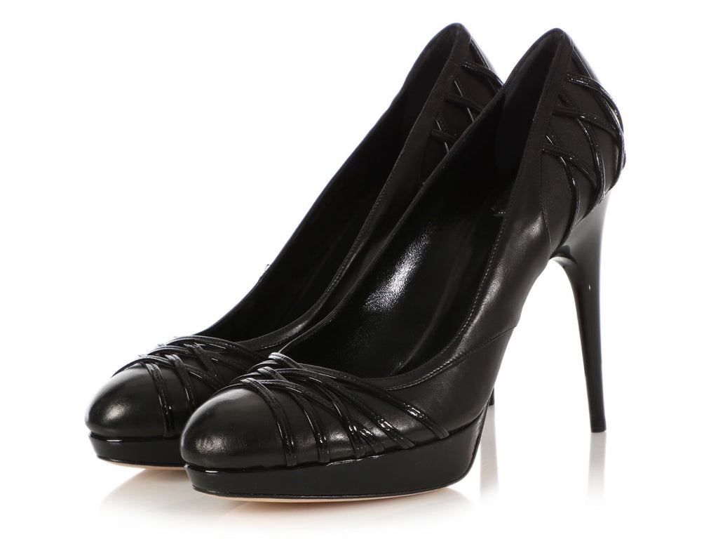 Dior Black Karenine Escarpin Pumps