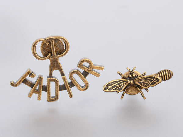Dior J'Adior Gold-Tone Pierced Earrings
