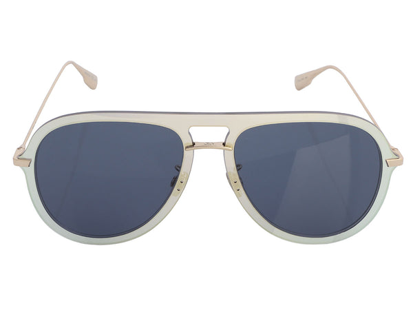 Dior Gold-Tone Ultime 1 Shield Sunglasses
