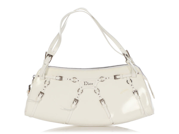 Dior White The Blonde Shoulder Bag