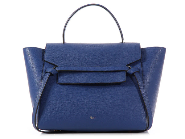 Céline Indigo Mini Tie Bag
