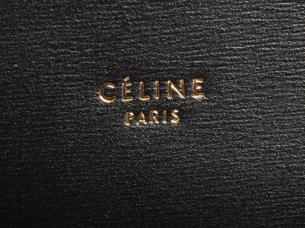 Céline Medium Black Trotteur