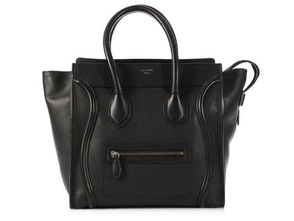 Céline Black Mini Luggage