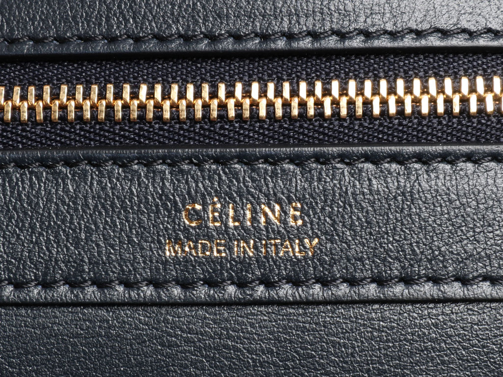 Céline Medium Woven Phantom Cabas