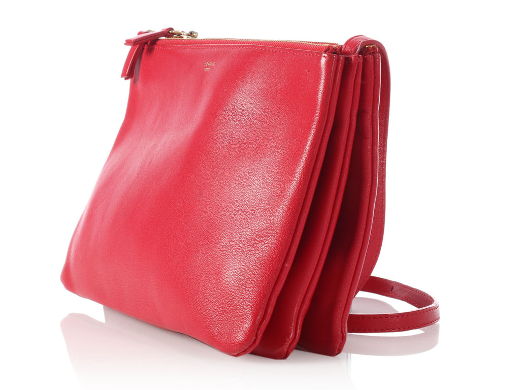 Céline Large Red Trio