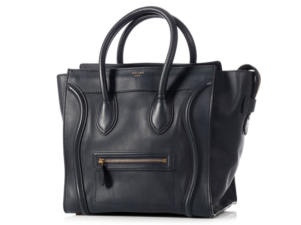 Céline Navy Mini Luggage