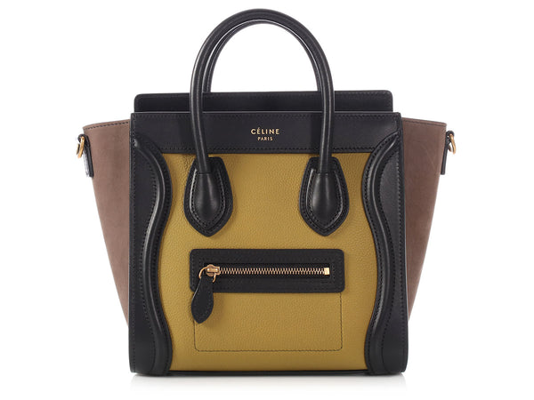 Céline Tri-Color Nano Luggage