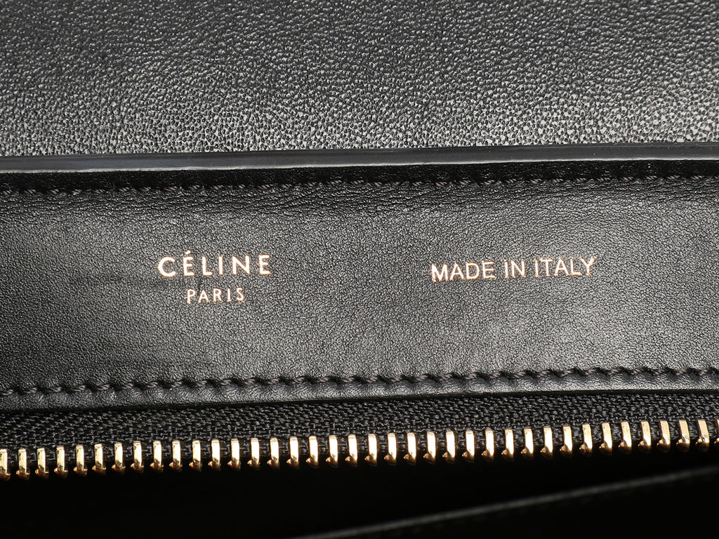 Céline Medium Tricolor Trapeze Bag