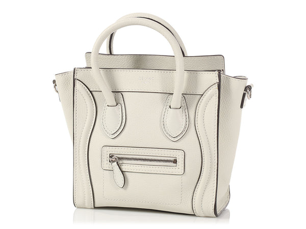 Céline Light Gray Nano Luggage