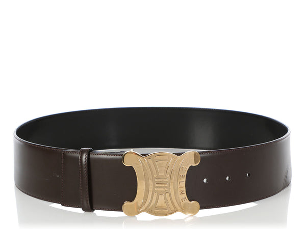Céline Wide Brown Belt