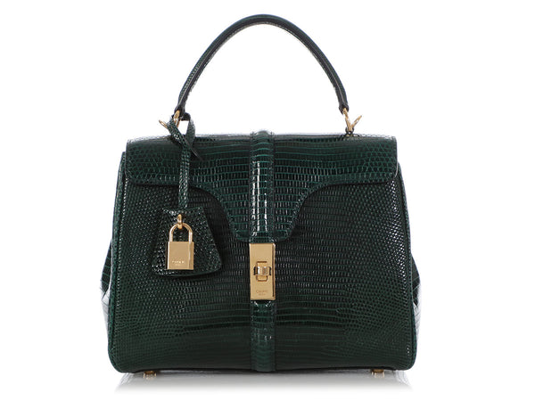Céline Small Amazone Lizard 16 Bag