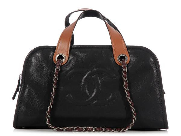 Chanel Dark Green In the Mix Bowler