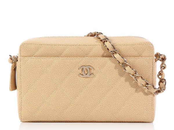 Chanel Tan Camera Bag