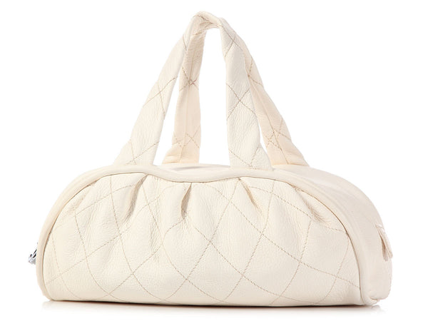 Chanel Cream Duffel