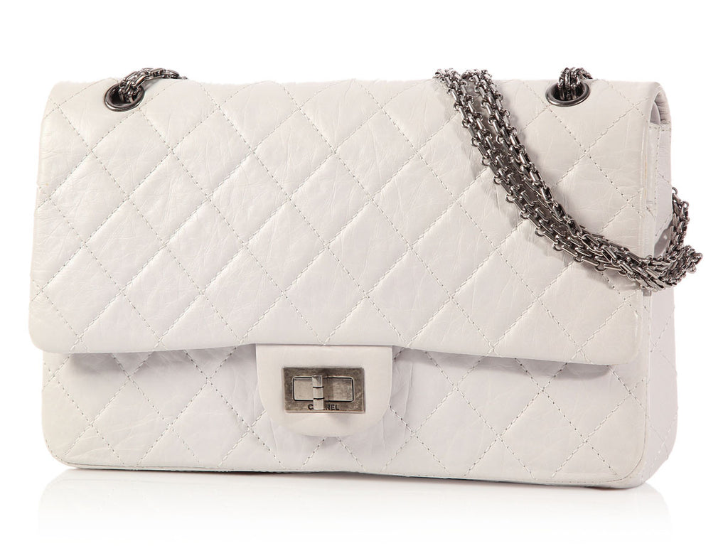 Chanel White Reissue 2.55