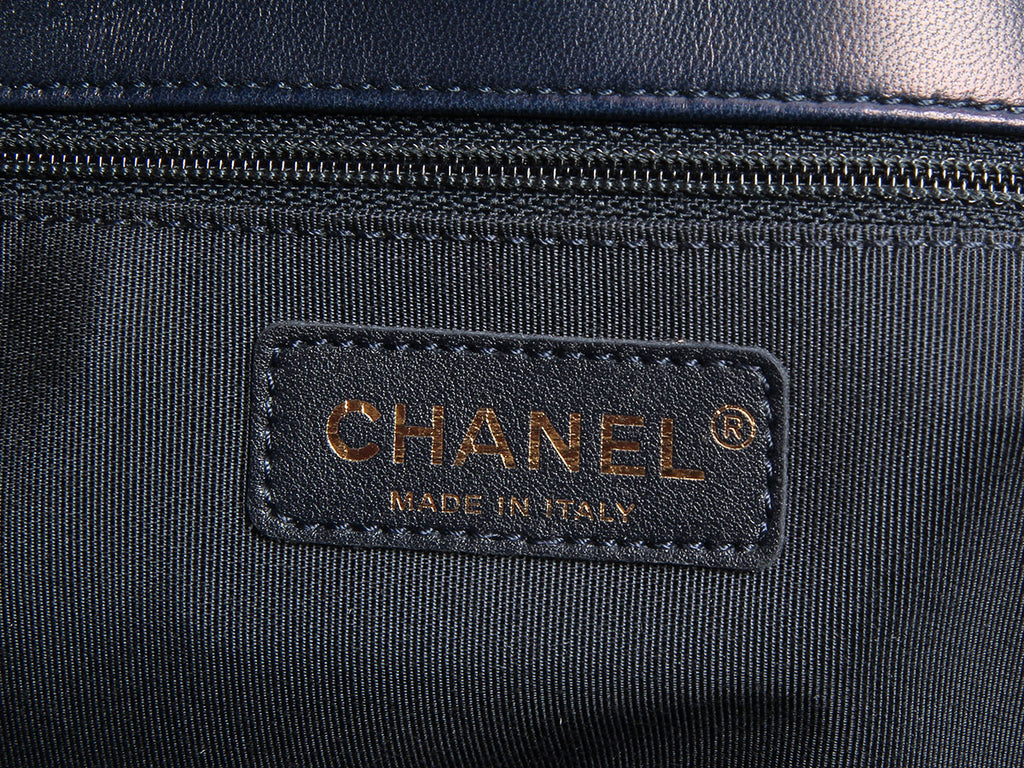 Chanel Two-Tone Tote