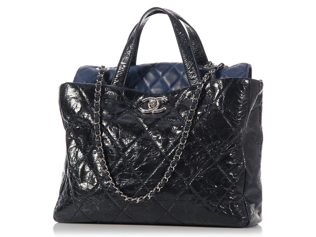 Chanel Navy In the Mix Tote