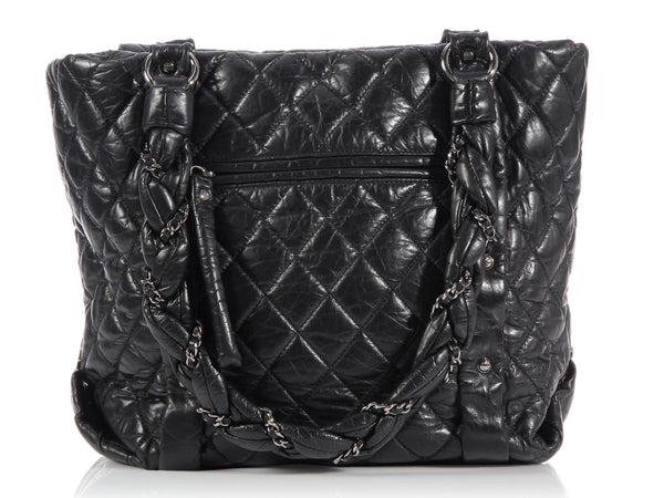 Chanel Black Lady Braid Tote