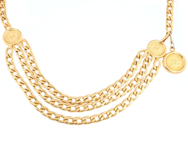 Chanel Golden Coin Belt