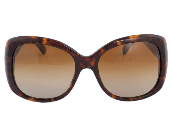 Chanel Tortoiseshell Polarized Sunglasses